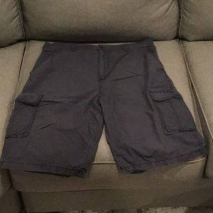 Slate grey shorts size 34
